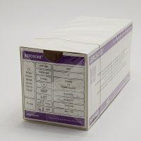 """berosorb 555 1 200x200 - ПГА (полигликолид) """"Berosorb"""" 0 (3,5) 75 см кол. 35 мм 1/2 уп./12 шт."""