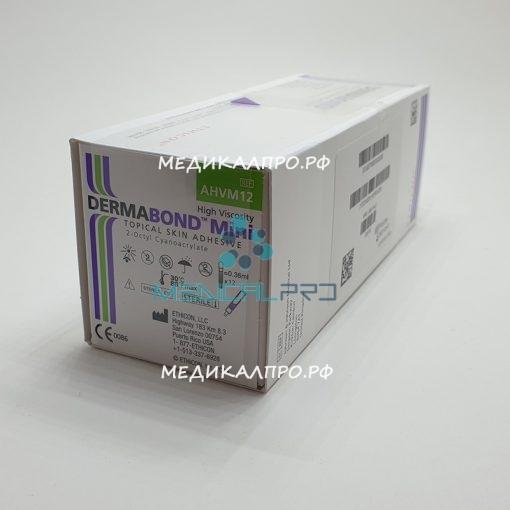 dermabond mini 888 510x510 - AHVM12 Дермабонд кожный клей, высоковязский, мини, 0.36 мл уп./12 шт.