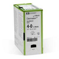 dermalon555 200x200 - 88861742-31 Дермалон 4/0, 45 см, синий Реж. 19 мм, 3/8 уп./36 шт.