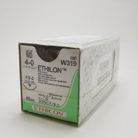 ethilon555 1 200x200 - W740 Этилон 0, петля, 150 см, черный Кол. масс. 40 мм, 1/2 уп./12 шт.