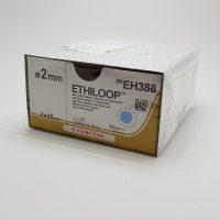ethiloop555 200x200 - EH383E Этилуп силиконовая петля 2 х 45 см, диаметр 1.3 мм, красная уп./24 шт.