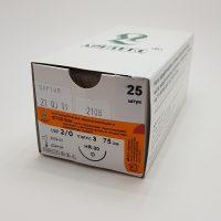 ftorlin 555 200x200 - Фторлин кручёный синий 75см 5/0 (1) с 1 реж. иглой 15,20 мм уп./25 шт.