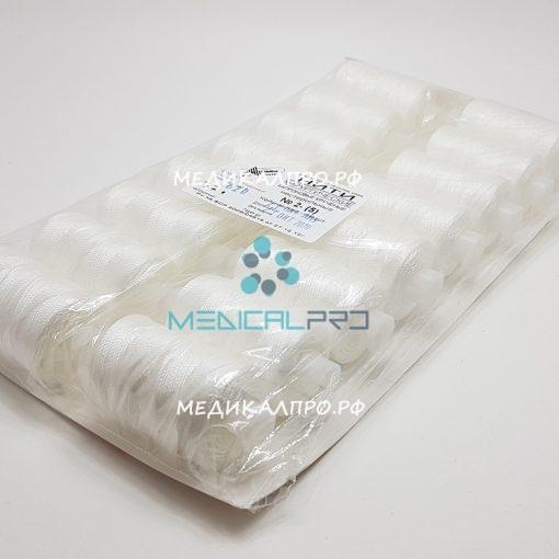 kapron mos555 510x510 - Лавсан нитки хирургические нестерильные (1) 5/0 750м в бобинах уп./16 шт.