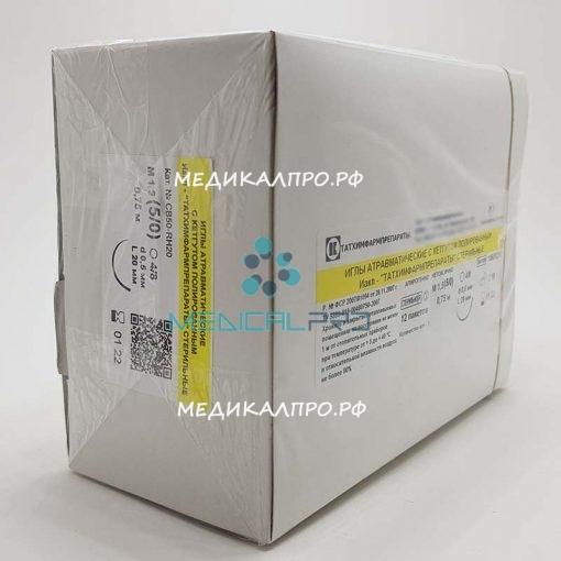 kegut tat555 510x510 - Кетгут полированный стерильный в полимерной упаковке 150см (8) 4 без иглы уп./12 шт.