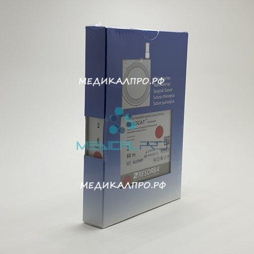 ketgut chrom kass 888 510x510 - CN3F Кетгут хромированный (2) 4/0 100м кассета уп./1 шт.