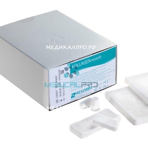 kollagen resorba555 510x510 - RK9011 Коллагеновая губка 9х7 см пластина уп./1 шт.