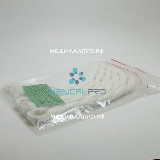 lavsa kos opt nst 888 510x510 - Капрон плетёный с фторполимерным покр. син./бел. нестерильный 3/0 (2) моток (косичка) 50м без иглы уп./1 шт.