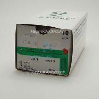 lavsan kat lin555 200x200 - Лавсан белый плетёный стерильный на катушке 10 м 0 (3,5) без иглы уп./10 шт.