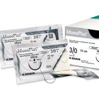monoplus555 200x200 - C0024058 Моноплюс фиолетовый 1 (4) 70 cм HR37S колющая, 1/2 окр, 37 мм, усиленная уп./36 шт.