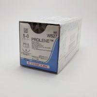 prolen555 200x200 - W8470 Пролен 0, 100 см, синий Обр3-реж. 40 мм, 1/2 уп./12 шт.