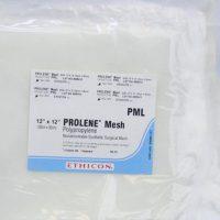 prolene mesh pml555 200x200 - PML1 Сетка из Пролена 30 x 30 см уп./1 шт.
