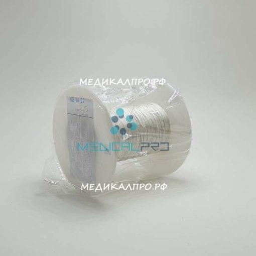 shelk kat ns opt 888 510x510 - Шёлк плетёный нестерильный 1 (4) 1 метр катушка от 40м до 2000м уп./1 шт.