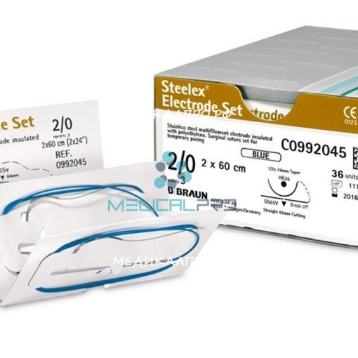 "steelex elecset555 510x510 - C0992097 Стилекс ""ELECTRODE SET"" 2/0 60 см HR26/GS65V уп./36 шт."