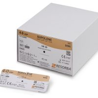 supolene resorba555 200x200 - 9211 Суполен 6/0 (0,7) 45 см 2xVSPM 8F Шпат. ручн. заточка 8 мм х 2, 1/4 уп./24 шт.