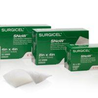 surgicelsnow555 200x200 - 2092 Серджисел СНоУ материал гемостатический рассасывающийся 5.1 х 10.2 см уп./10 шт.