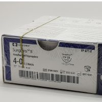 surgipro555 200x200 - VP-72-X Сургипро II 7/0, 60 см, синий Кол.черн. 9 мм х 2, 3/8 уп./36 шт.
