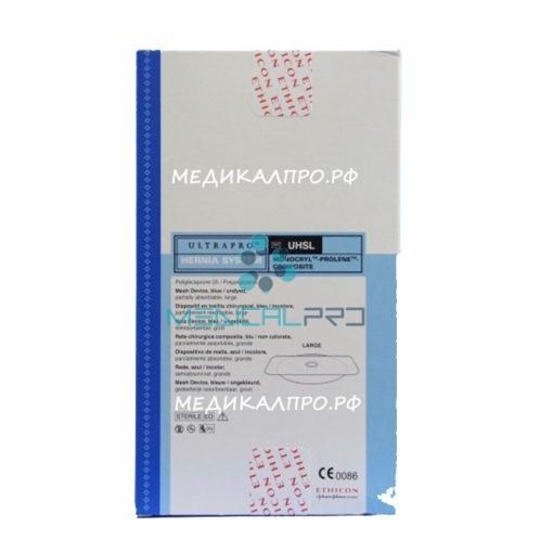 ultrapro hernia555 510x510 - UHSM Система для лечения грыжи Ультрапро с круглым подфасциальным лоскутом 7,5 см уп./3 шт.