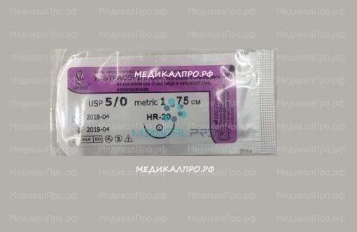 ultrasorb12 510x332 - Ультрасорб мононить полигликапроновая 75см 4/0 (1,5) с кол. иглой 15,20 мм уп./25 шт.
