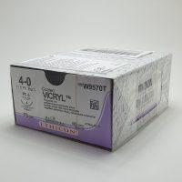 vicril 36 888 200x200 - W9831T Викрил 6/0, 45 см, н/окр. Прайм реж. 13 мм, 3/8 уп./24 шт.